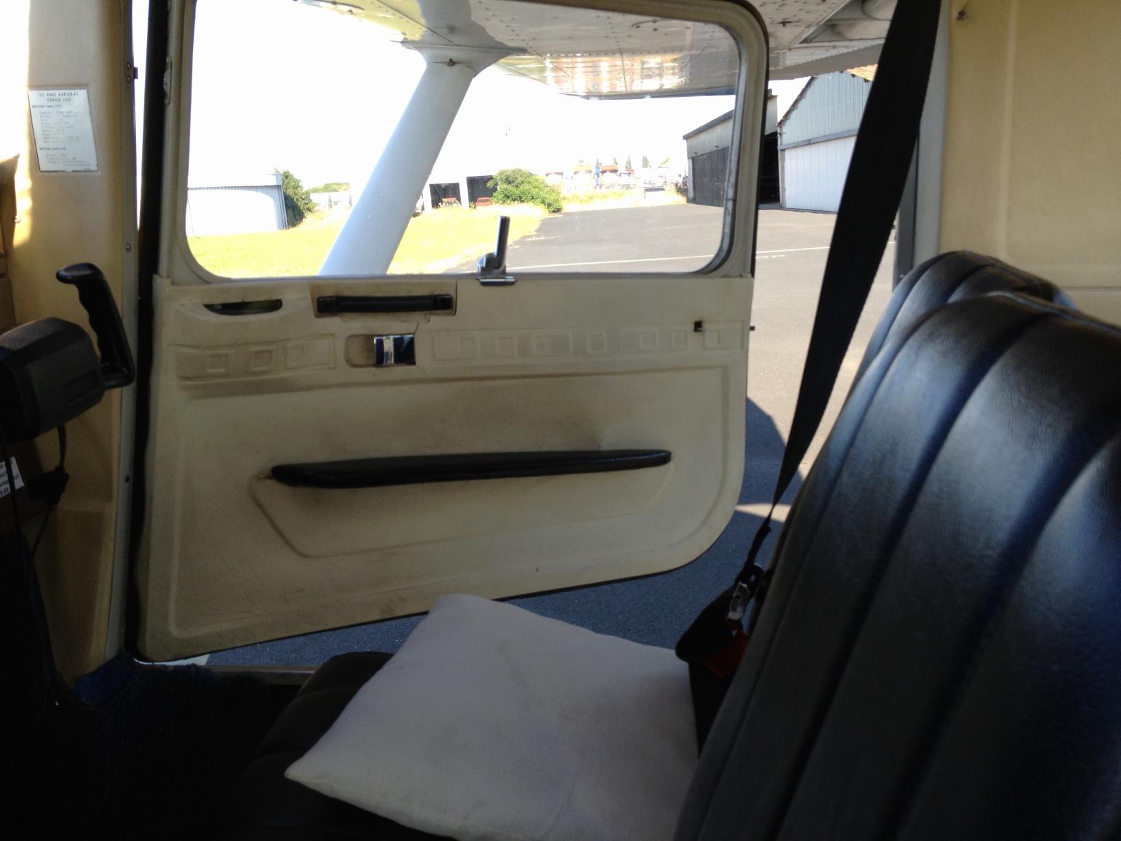 Cessna 152 Innenraum
