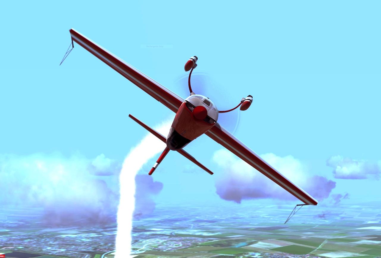Extra 300 Kunstflug Pilotenausbildung