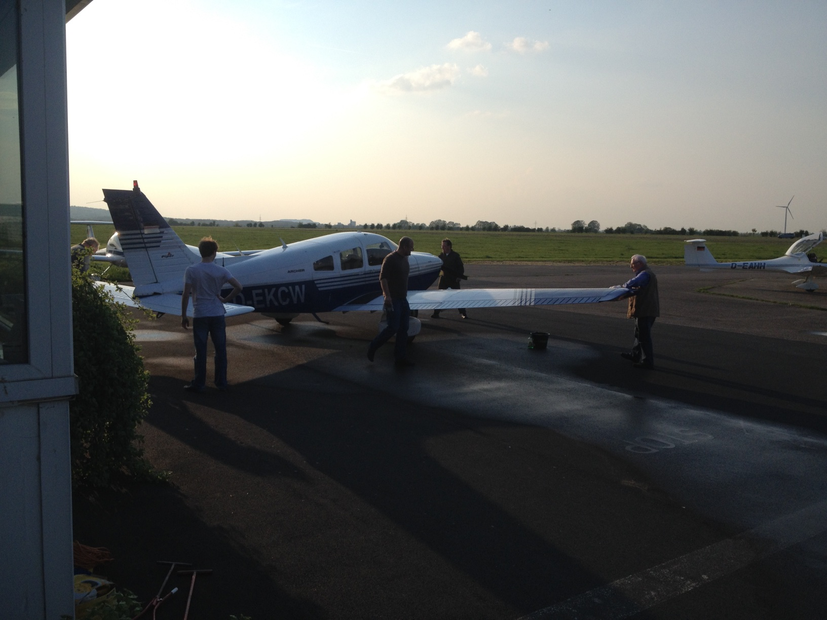 Pilotenausbildung im Verein