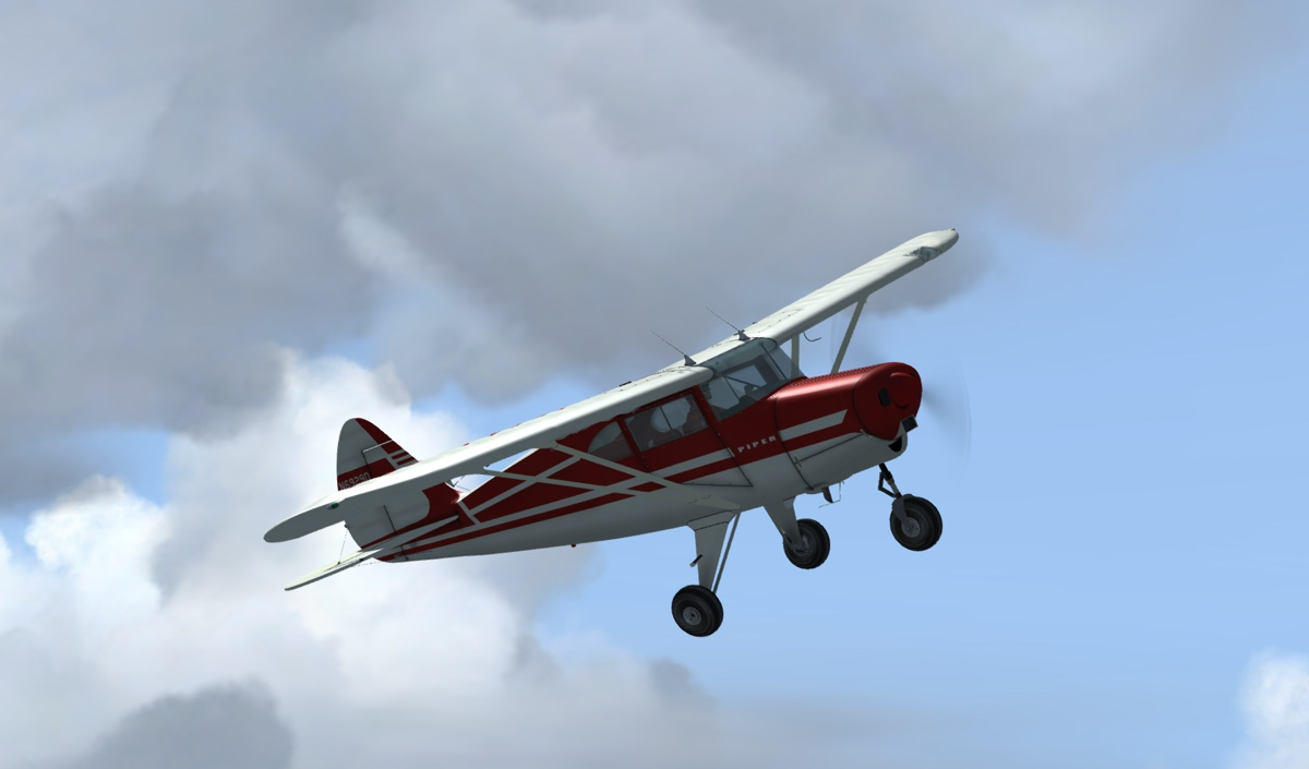 Short Wing Piper (Pacer/Tripacer)