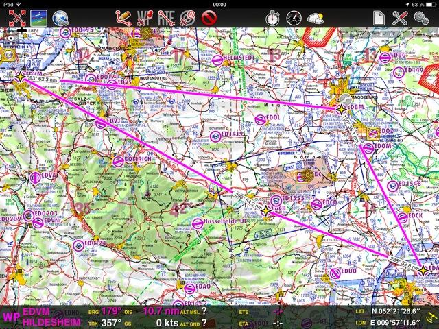 Pilotenausbildung – hilft die AirNav Pro Navigations App?