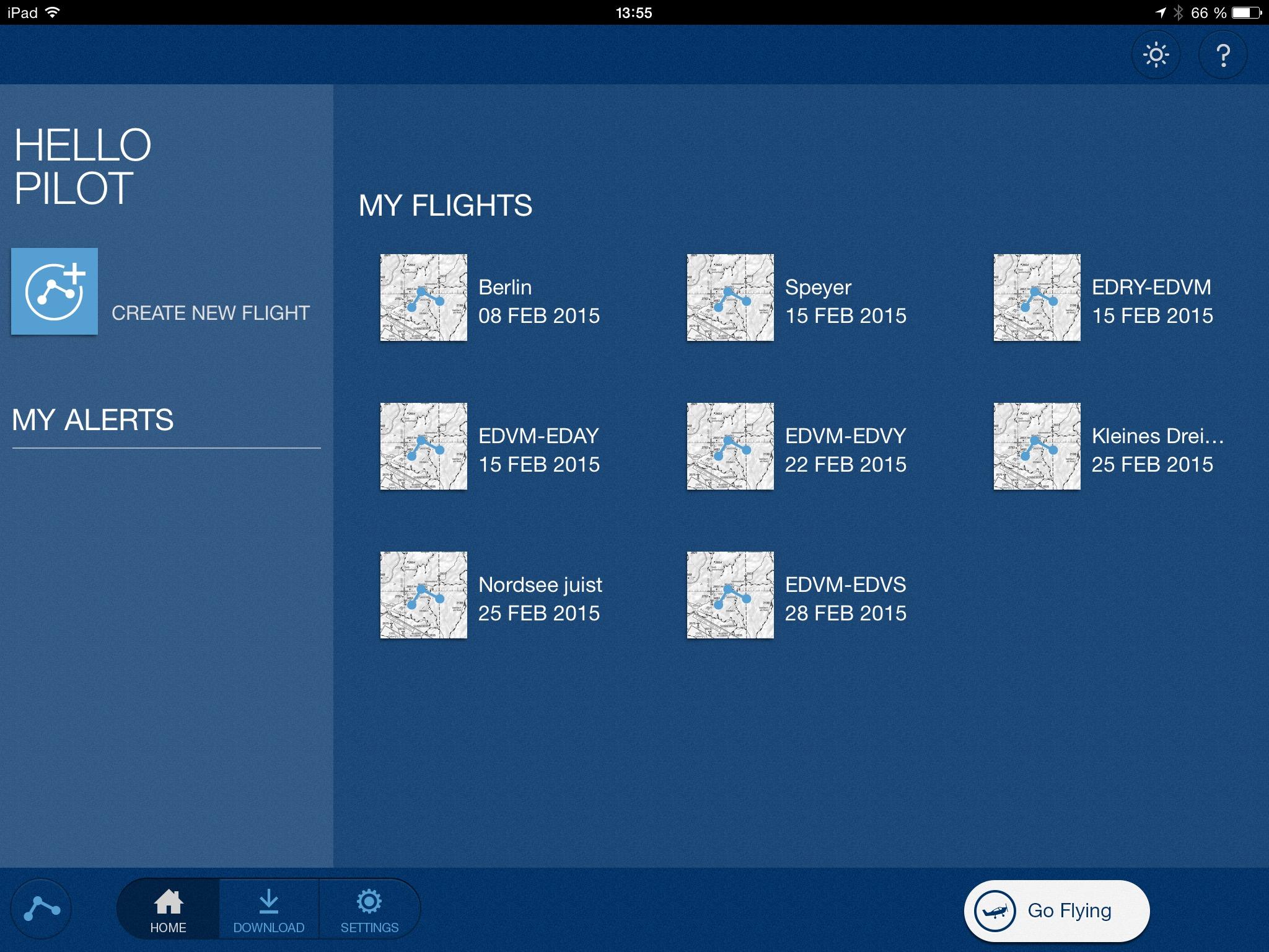 Jeppesen Mobile FliteDeck VFR – So macht die Flug- und Wetterplanung Freude!