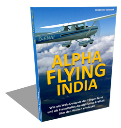 Alpha Flying India Cover